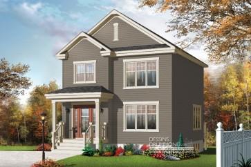 maison classique americain-cottage