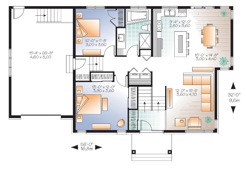 Modele Maison De Plain Pied Et Bungalow Plans 7