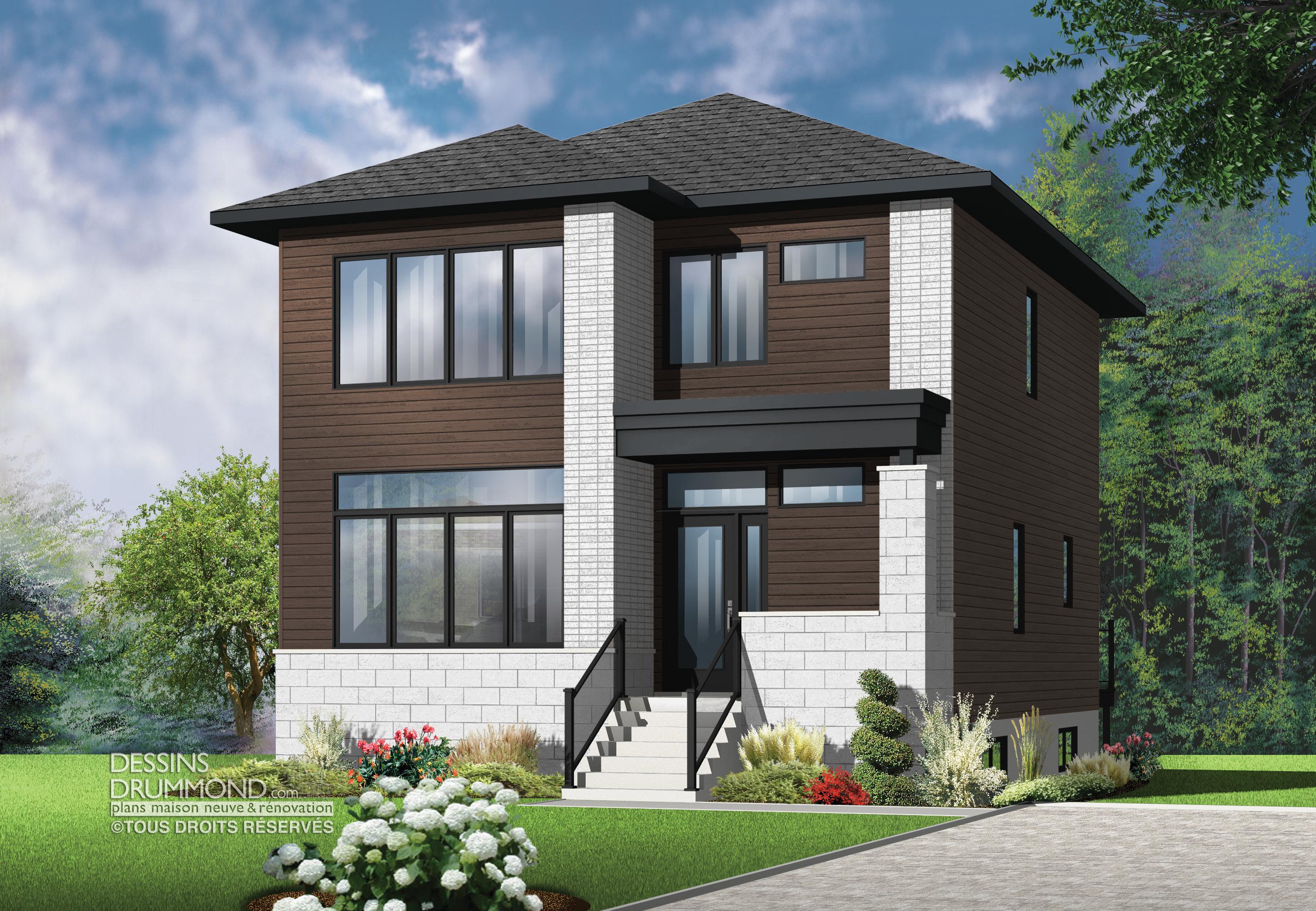 maison cottage de style classique avec garage montmagny. Black Bedroom Furniture Sets. Home Design Ideas
